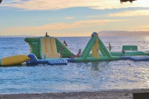 inflatable water park dunlaoghaire