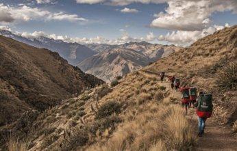 First Female Porters Inca Trail