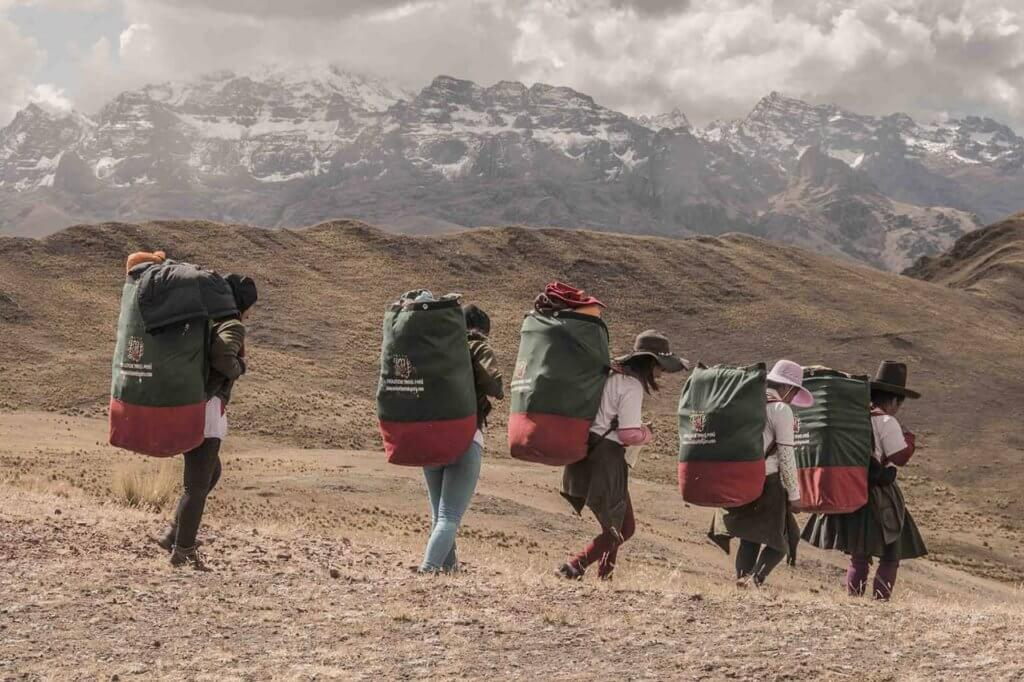 First Female Porters Inca Trail