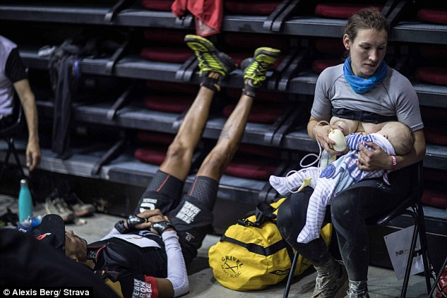 Breastfeeding ultrarunner UTMB