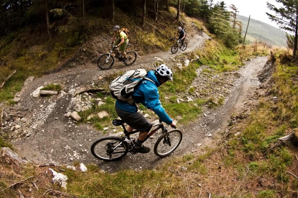E-bike cycling routes