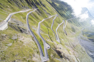 Bike touring routes