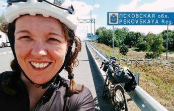 Jenny Graham world cycle