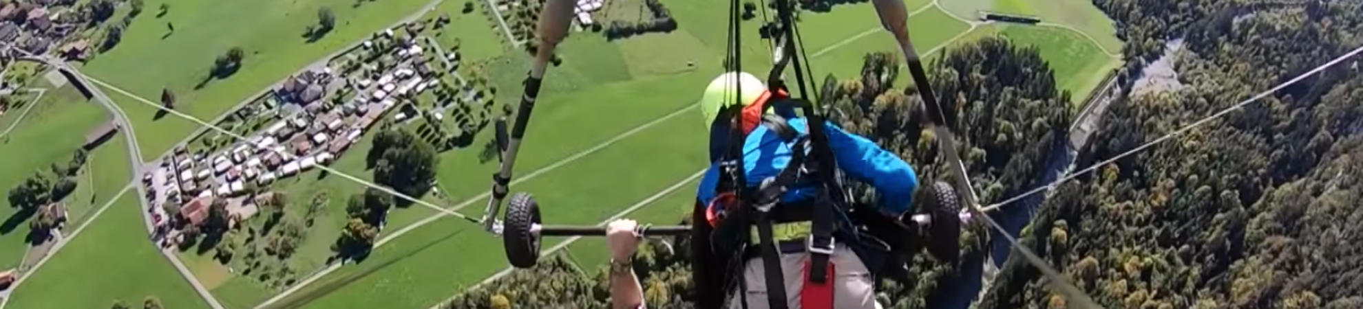 hang-gliding accident