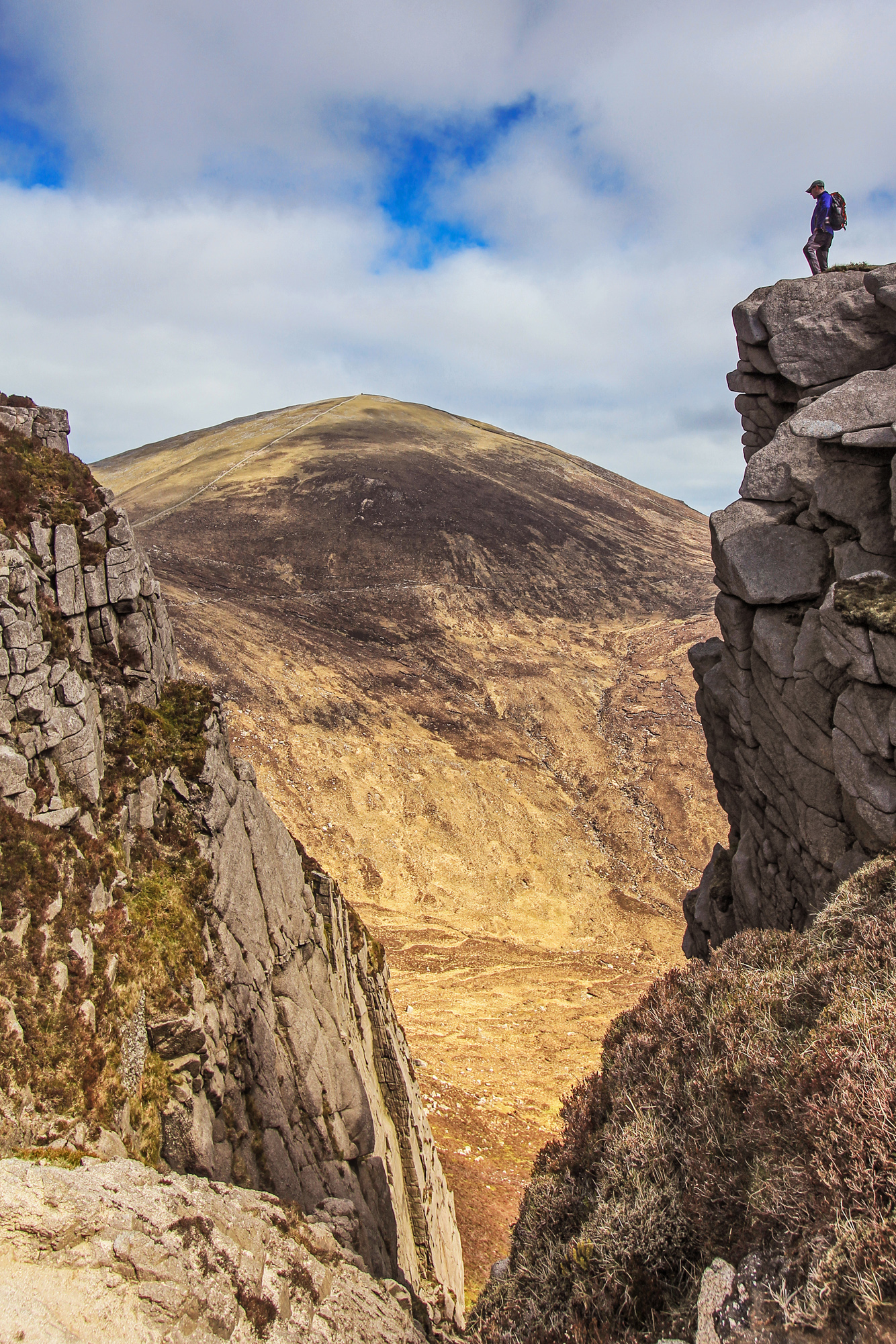 Adrian Hendroff Outsider Awards 2018 Heights of the Mournes Looking toward Slieve Donard from above the Devil's Coachroad