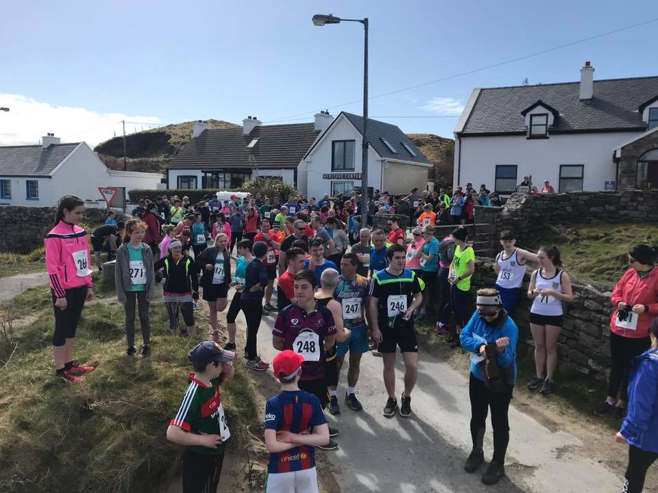 Road running races in ireland