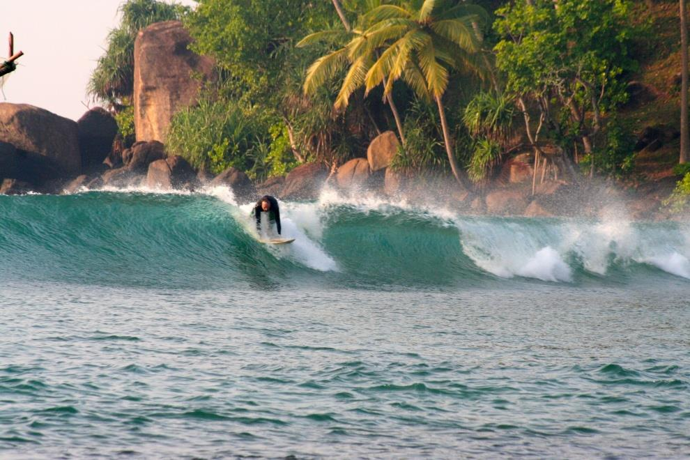 Winter surfing destinations