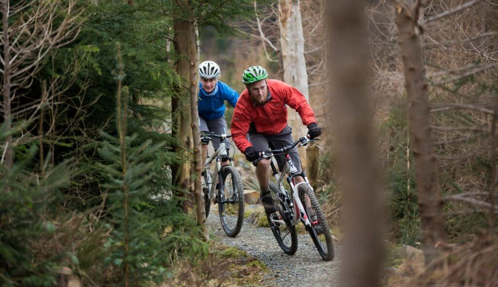 Mountain biking_ Castlewellan