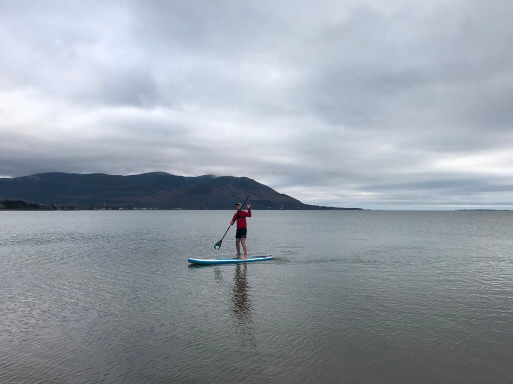 stand up paddle boarding Carlingford Lough
