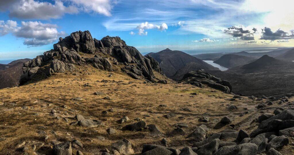 best hikes mourne mountains