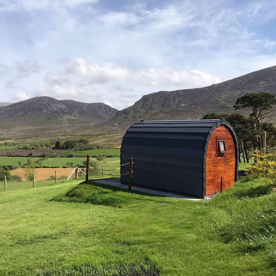 camping spots Mourne Coastal Route