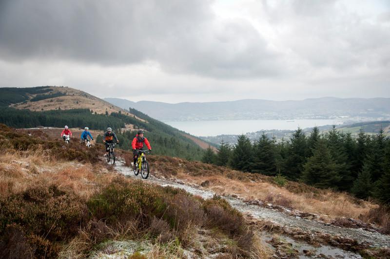 mountain biking mournes