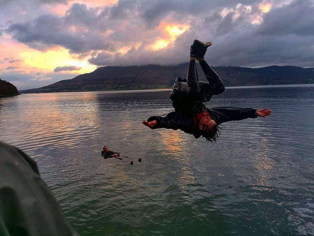 coasteering mournes