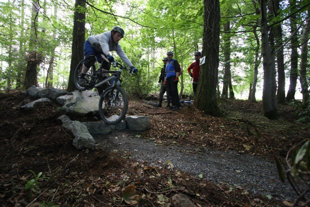 tollymore mountain bike centre