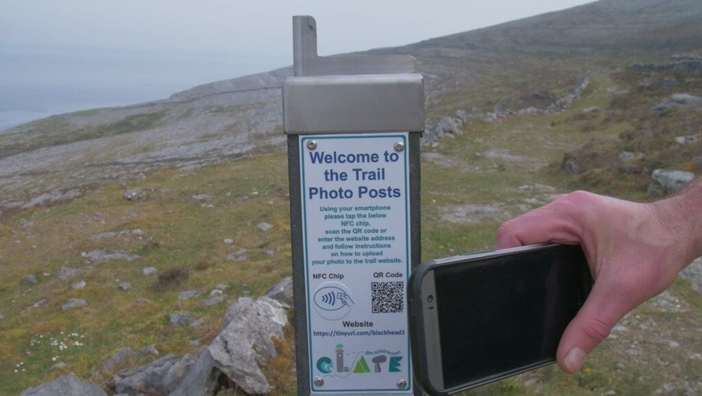 clare interactive trail posts