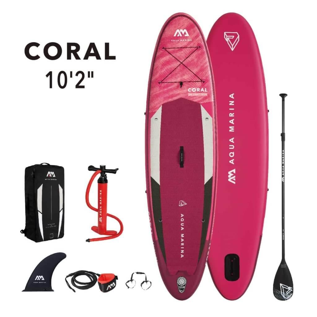 AquaMarina-SUP-Package-Coral- SUP