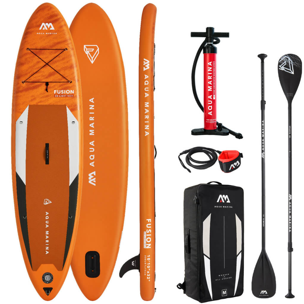 aqua marina fusion stand up paddleboard