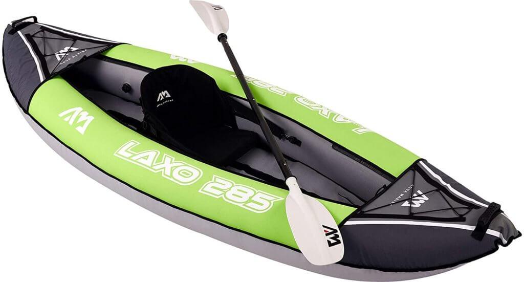 aqua marine laxo one person inflatable kayak